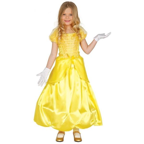 KOSTÝM dětský Princezna žluté šaty 3-4roky