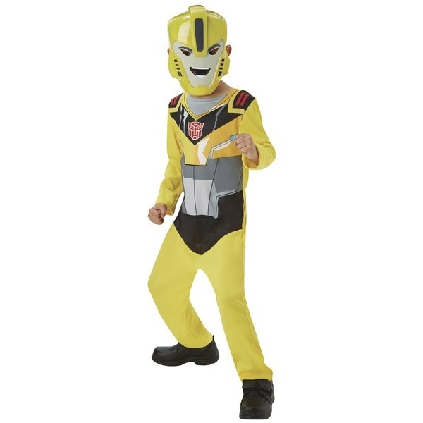 KOSTÝM dětský Transformers Bumble Bee action suite vel. 98-116