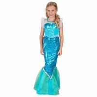 Kostým šaty mořská panna dětský 120-130 cm