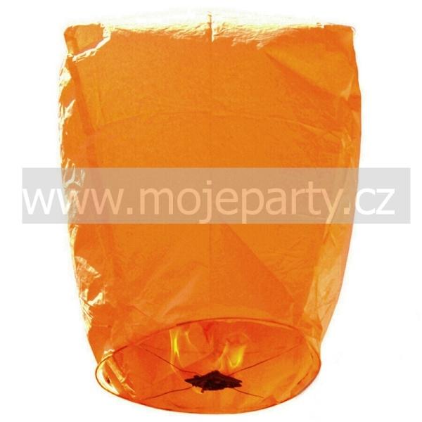 LAMPIÓN přání létající oranžový 1ks