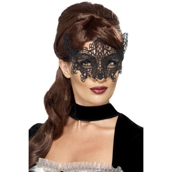 ŠKRABOŠKA dámská luxusní černá krajka
