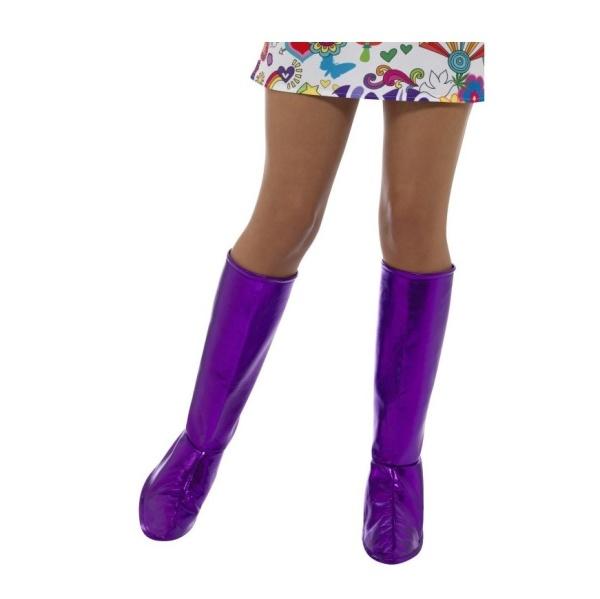 NÁVLEKY na boty GoGo fialové