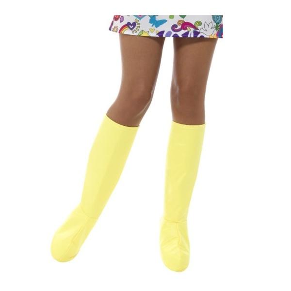 NÁVLEKY na boty Gogo žluté