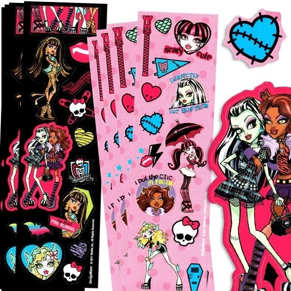 SAMOLEPKY Monster High 8ks
