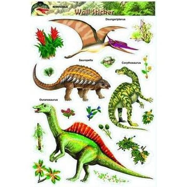 SAMOLEPKY na zeď Dinosauři