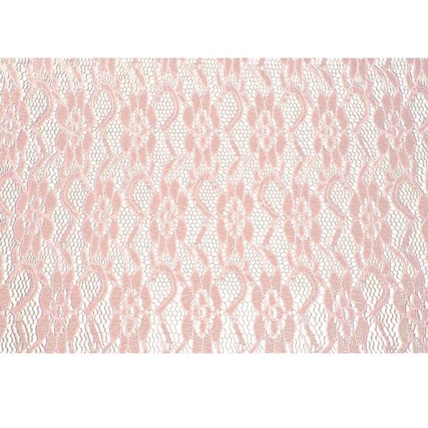 ŠERPA stolová Krajka růžová 30cmx5m