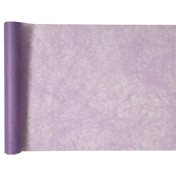 ŠERPA stolová netkaná textilie lila 30cmx5m