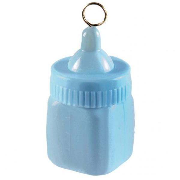 TĚŽÍTKO na balónky Dětská lahvička modrá