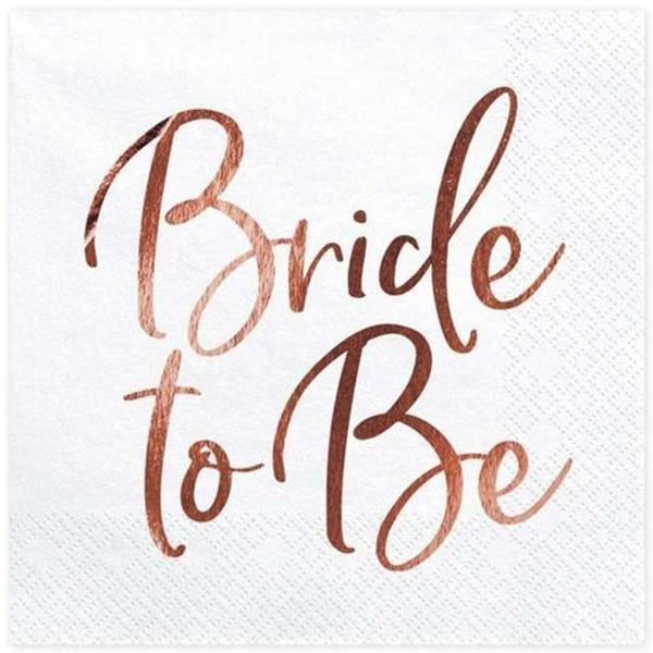 UBROUSKY Bride to be růžové zlato
