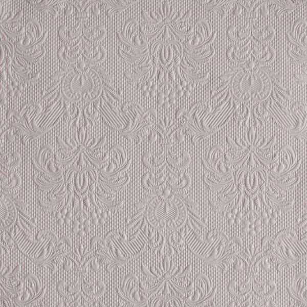 Levně UBROUSKY Elegance sv. šedá - 33x33cm 15ks