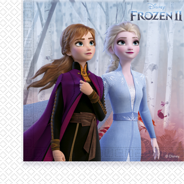 Levně UBROUSKY Frozen 2 33x33cm 20ks