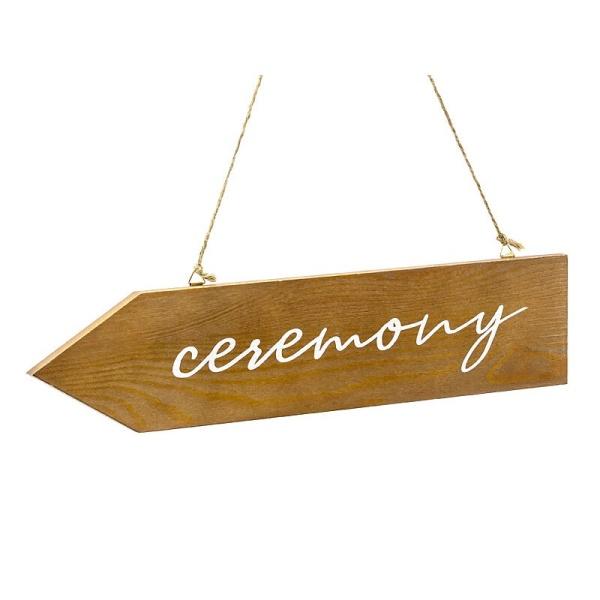 UKAZATEL dřevěný Ceremony