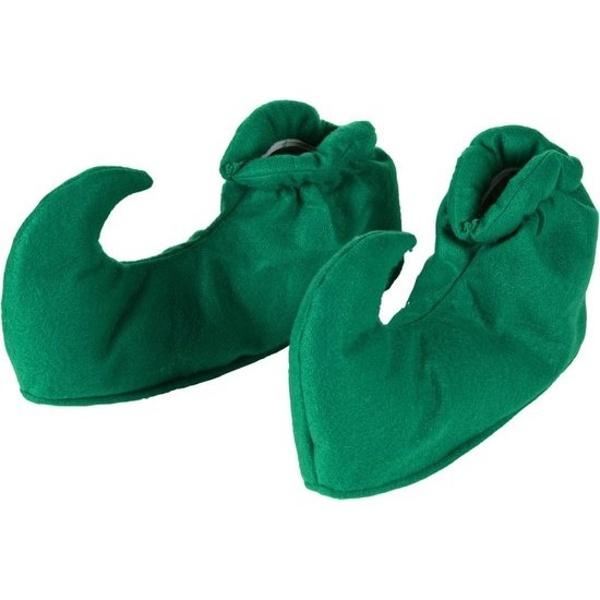 Zelené elfí návleky na boty
