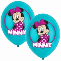 BALÓNEK LATEXOVÝ Minnie Mouse 6ks