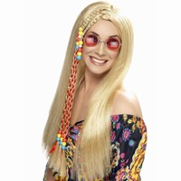 PARUKA Hippies blond